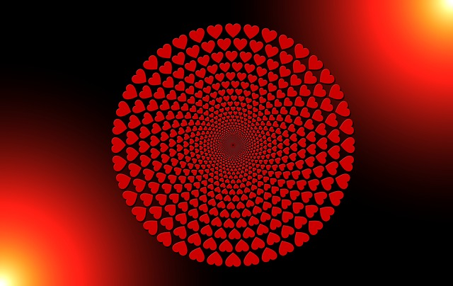 Heart, Round, Love, District, Abstract, Valentine's Day
