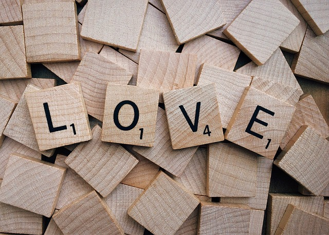 Love, Scrabble, Word, Emotion