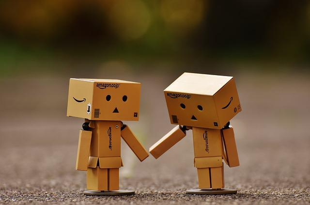 Danbo, Figure, Together, Hand In Hand, Love