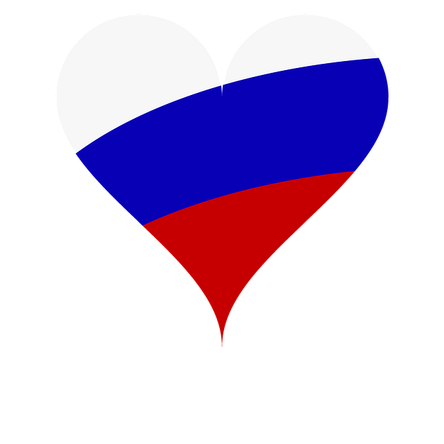 Heart, Love, Flag, Russia