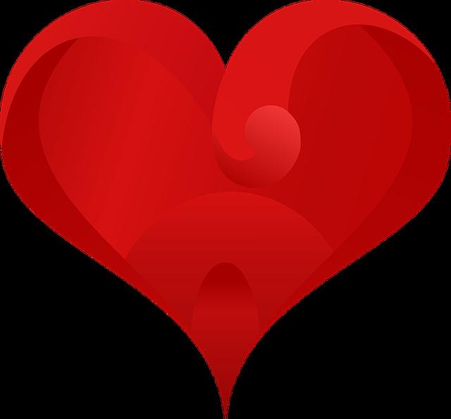 Heart, Love, Love Heart, Valentine, Red, Romance