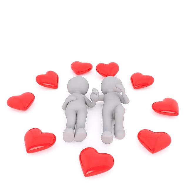 Love, Heart, Valentine's Day, Pair, Fresh In Love, Red