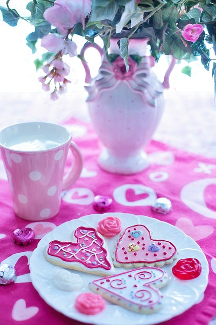 Valentine's Day, Valentine Cookies, Holiday, Love