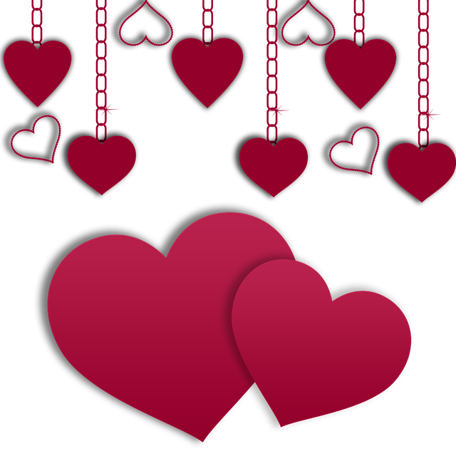 Free photo Love Png Image Decoration Wishes Hearts Valentine