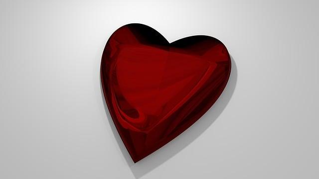 Heart, Love, Romance, Red