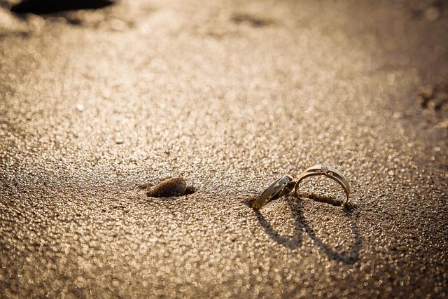 Coupling, Ring, Love, Beach, Sand, Sandy