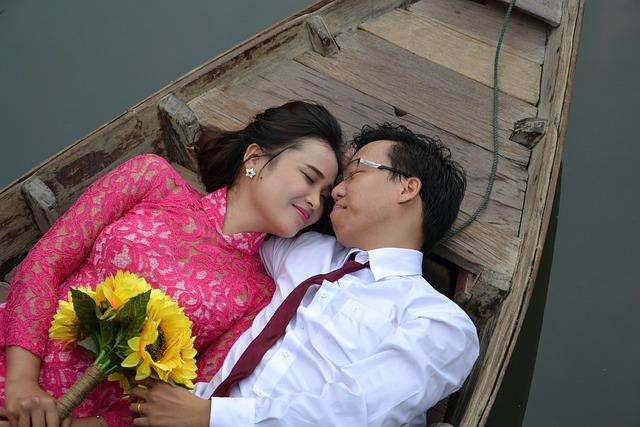 Wedding, Grooms, Barca, Love, Romantic