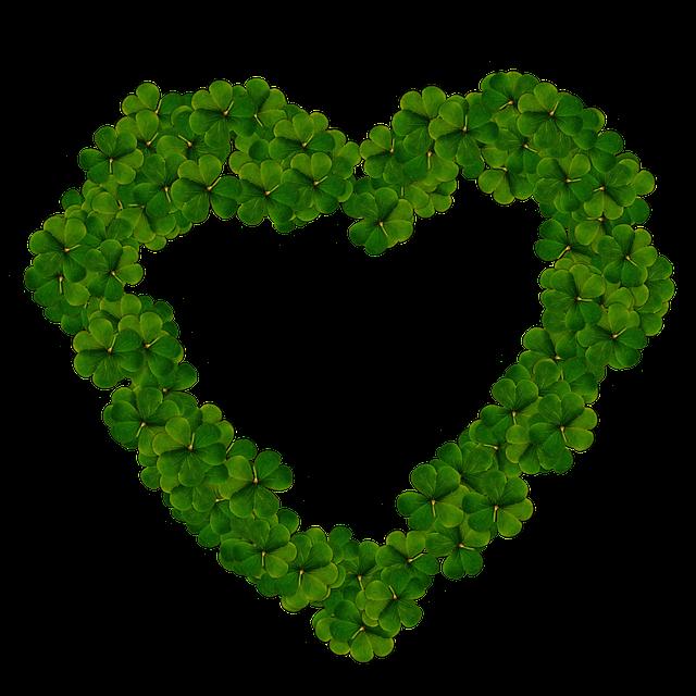 Heart, Clover, Png, Love, Saint Patrick, Luck, Ireland