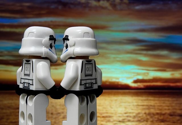 Romance, Relationship, Love, Lego, Stormtrooper