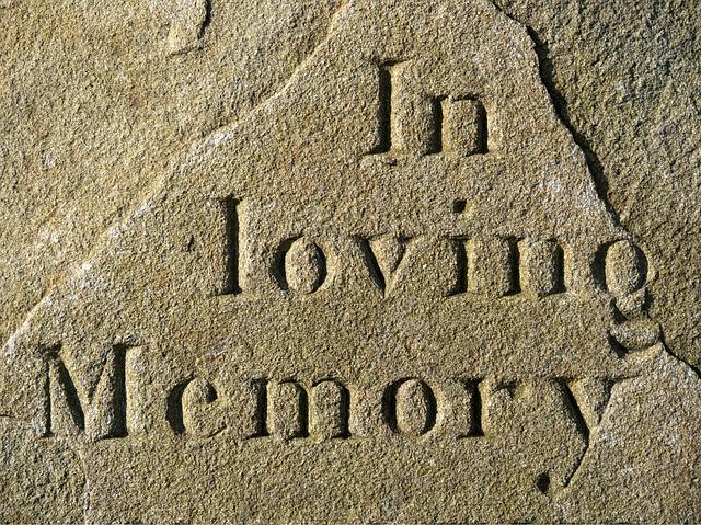 Loving, Memory, Memorial, Grief, Bereavement, Tribute