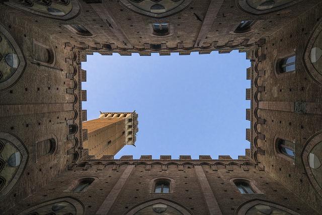 Architecture, Building, Castle, Low Angle Shot