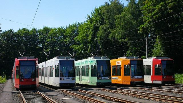 Tram, Low-floor Cars, öpnv, Passenger Transport
