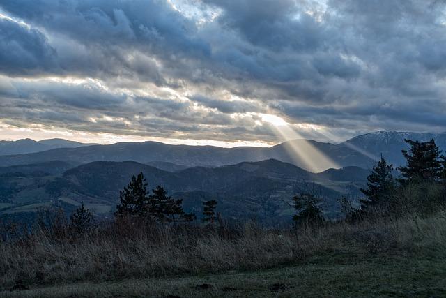 Alpine, Lower Austria, High Wall, Cloud Mood