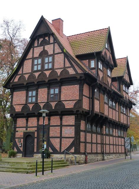 Stadthagen, Lower Saxony, Fachwerkhaus, Truss, Old Town