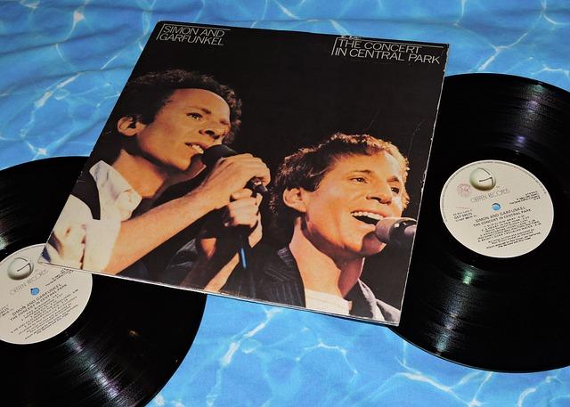 Lp, Vinyl, Disco, Music, Simon Gurfunkel, Vintage