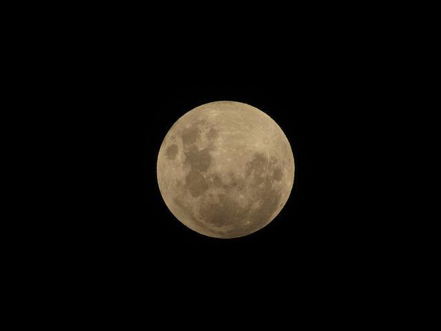 Moon, Penumbral Eclipse, Sky, Lual, Lunar Eclipse