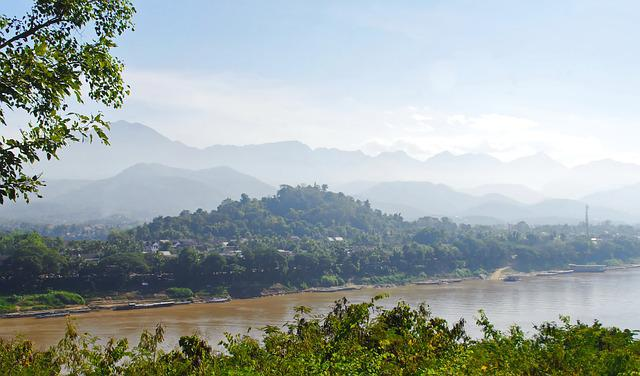 Laos, Luang Prabang, Dampness, Mékong, Tropics, Heat