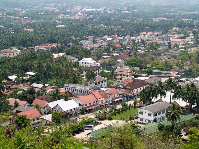 Luang Prabang, Laos, Phabang, Asia, Mekong, City, Town