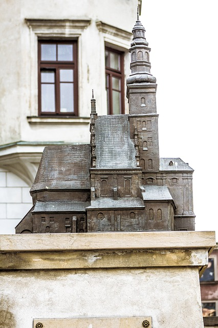 Lublin, Monument, Mockup