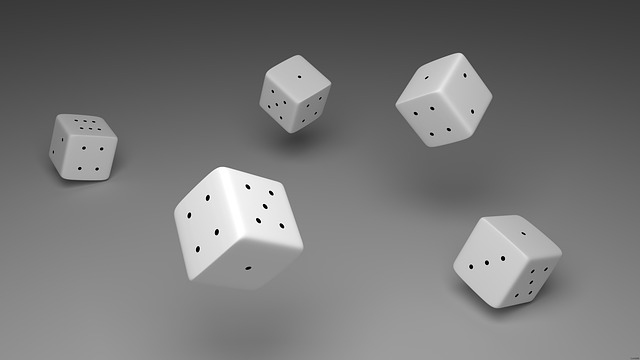 Cube, Craps, Luck, Instantaneous Speed, 3d