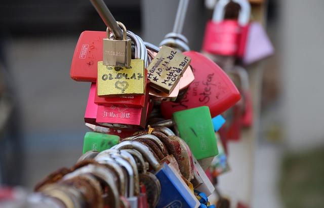 Castle, Padlock, Love, Love Castle, Lucky Charm