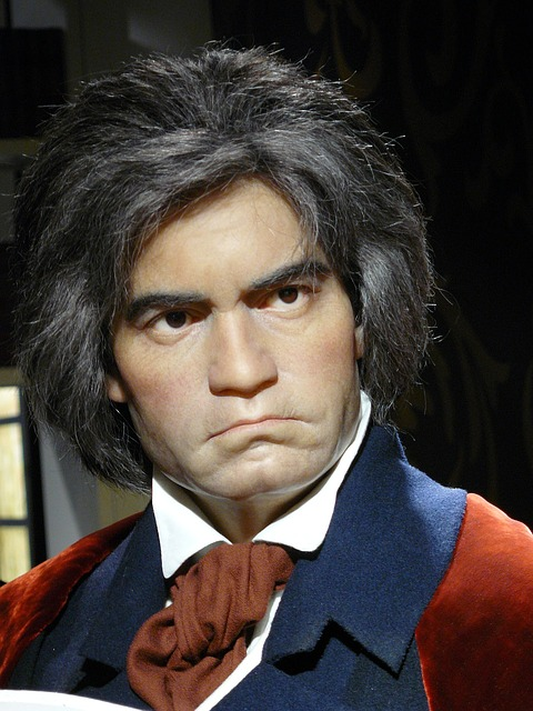 Ludwig Van Beethoven, Wax Museum, Madame Tussauds
