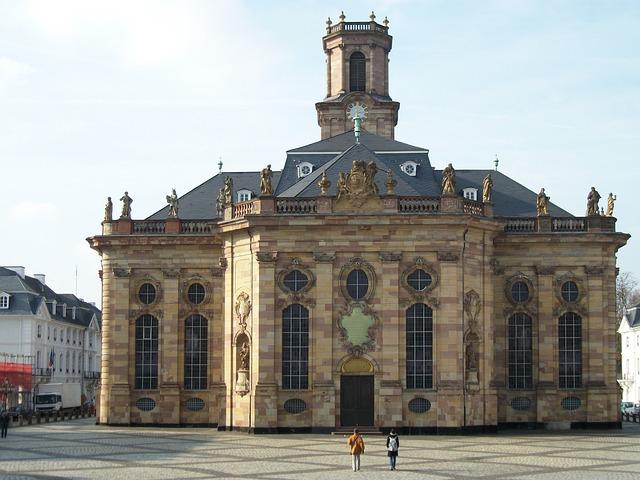 Ludwigskirche, Saarbrücken, Church, Architecture