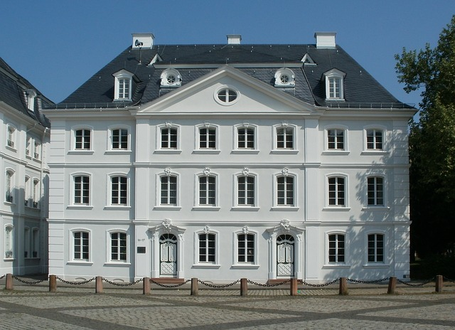Saarbruecken, Ludwigsplatz, House, Building, Front