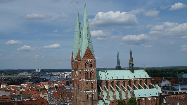St Mary's Church, Lübeck, Gothic, Church, St Mary's
