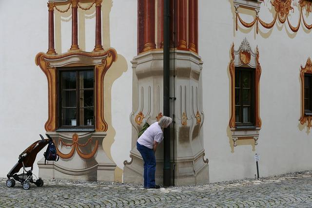 Lüftlmalerei, Lueftelmalerei, Southern Germany
