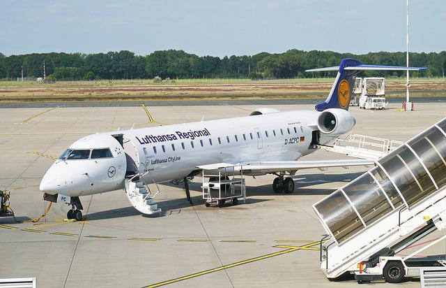 Lufthansa Regional, Cityjet, Clearance, Stairs, Tarmac