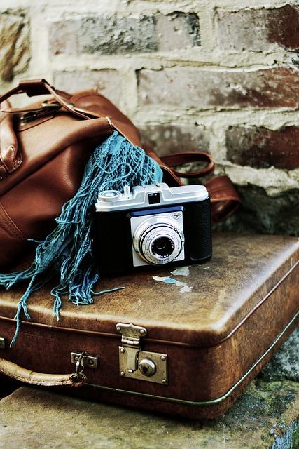 Luggage, Leather Suitcase, Old Suitcase, Go Away