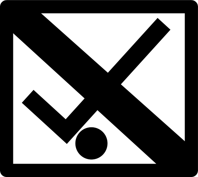 No Luggage Cart, Luggage, Cart, Not Allowed, Pictogram