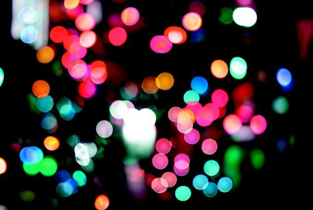 Christmas, Lighting, Lamps, Colors, Night, Luminaire