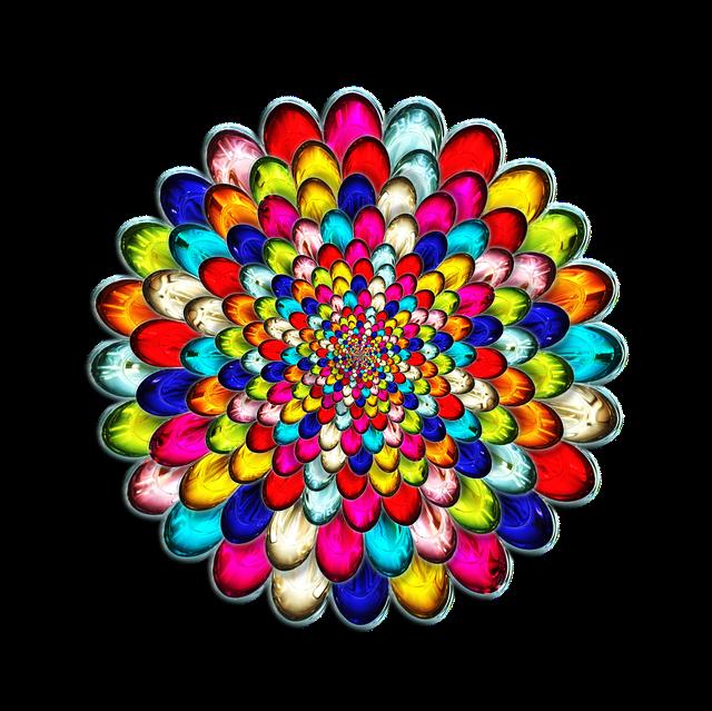 Glass, 3d, Luminescent, Rainbow, Colors, Shiny, Layers