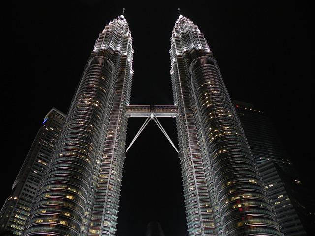 Malaysia, Skyscrapers, Kuala, Lumpur, City, Petronas