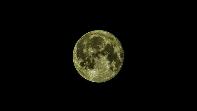 Full Moon, Satellite, Moon, Night, Astronomy, Lunar