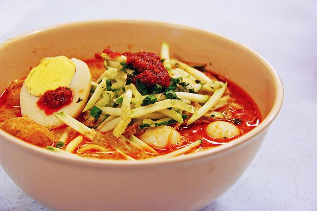 Laksa, Popular, Famous, Coconut, Lunch, Dinner, Local