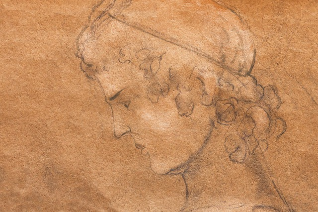 Youth, Man, Face, Lure, Pencil Sketch, Drawing