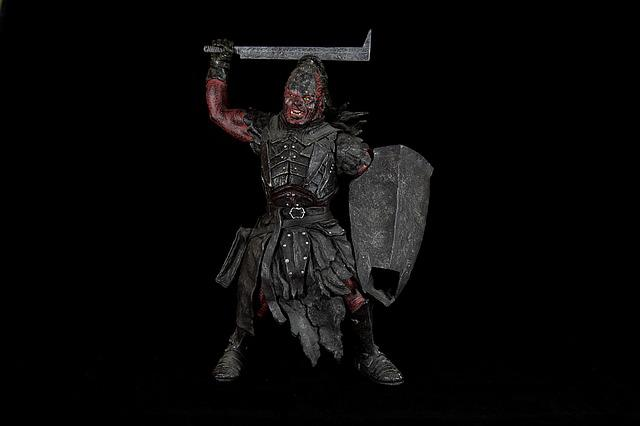 Lurtz, Uruk Hai, Lord Of The Rings, Hobbit, Toys