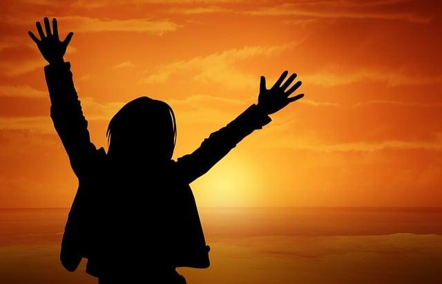 Person, Human, Joy, Sunset, Sun, Orange, Lust For Life