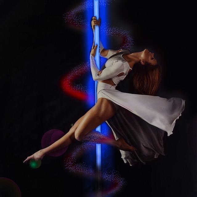 Women, Retouch, Luster, Pole Dance