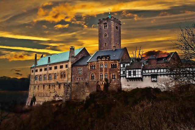 Thuringia Germany, Eisenach, Wartburg Castle, Luther