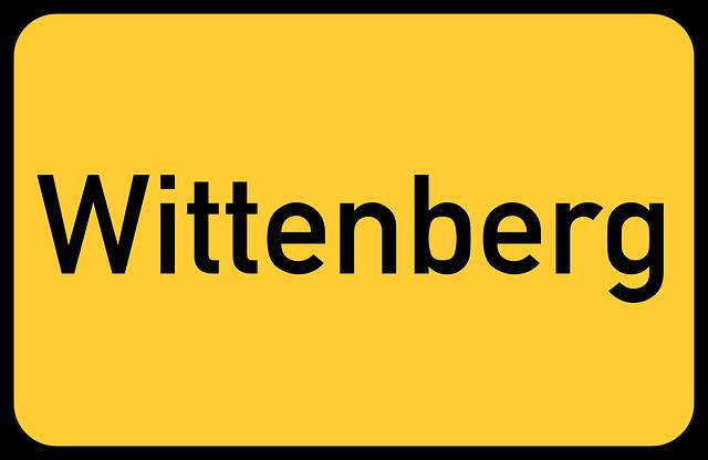 Wittenberg, Saxony-anhalt, Lutherstadt, Luther