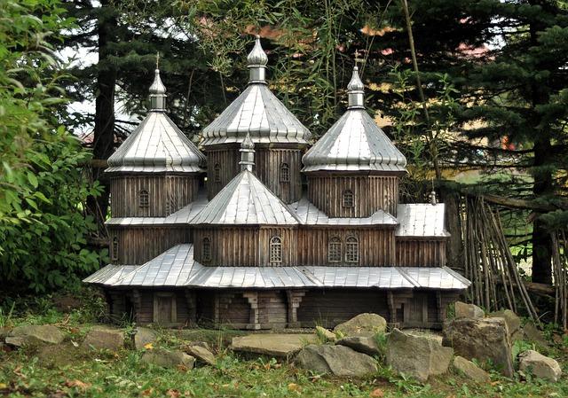 Orthodox Church, Model, Church, Lutowiska