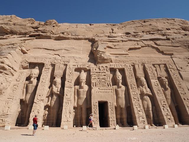 Abu Simbel Temple, Egypt, Luxor
