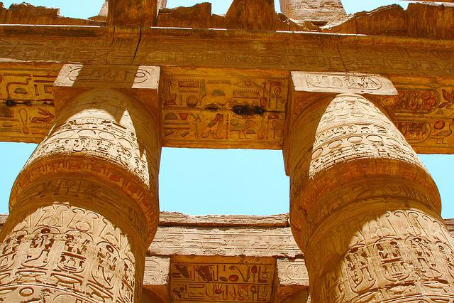 Egypt, Luxor, Carnac, Temple, Hieroglyph, Ancient