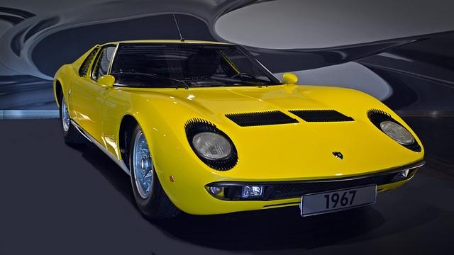 Lamborghini, Miura, Sports Car, Auto, Luxury, Oldtimer
