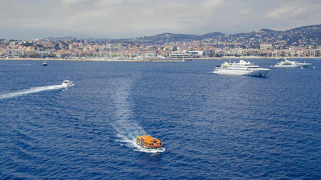 Boats, Water, Bay, Cannes, France, Holiday, Luxury