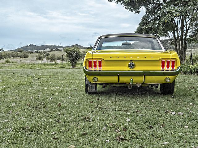 Mustang, Old, Car, Muscle, Speed, Vintage, Luxury